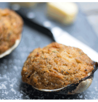Real Deal Stuffed Clams